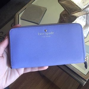 Authentic Kate Spade purple wallet